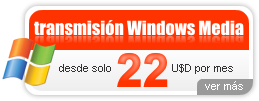 Transmisión Windows Media